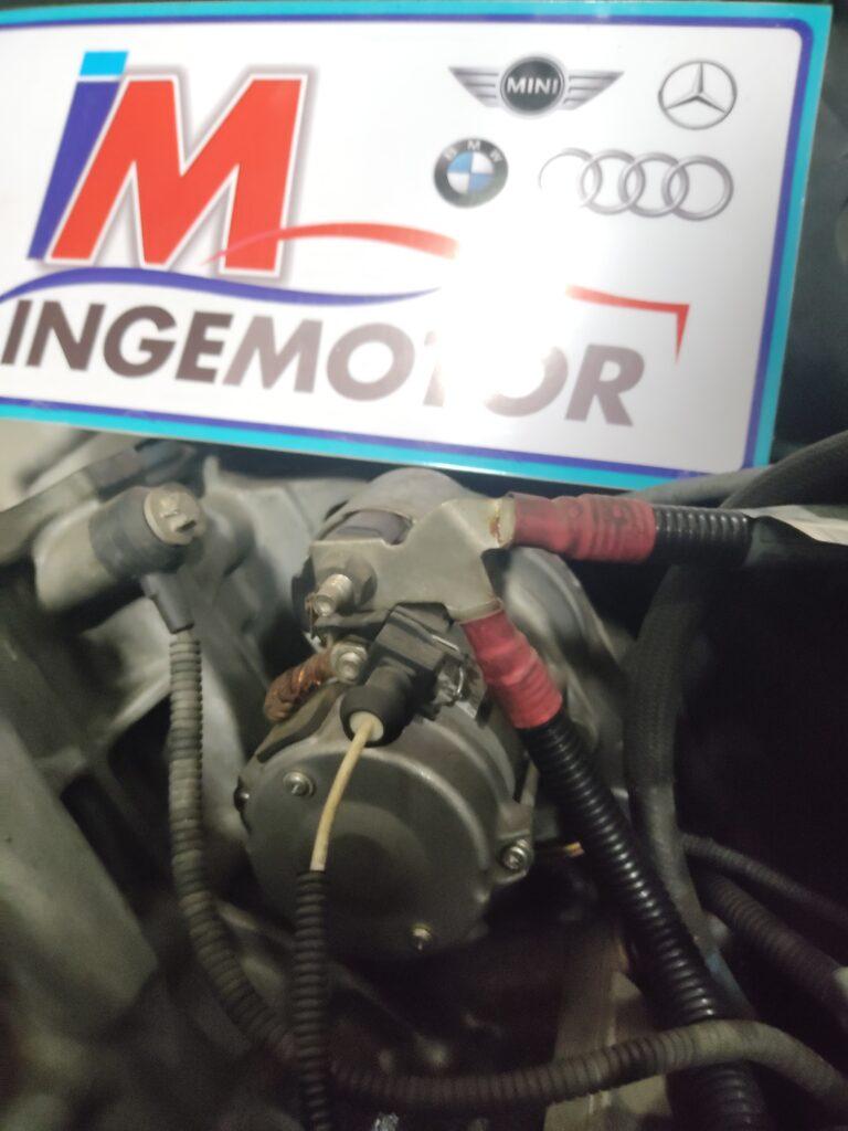 Esto es un motor de arranque