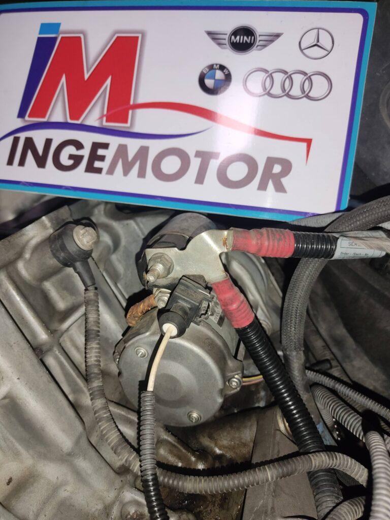 Motor de arranque auto