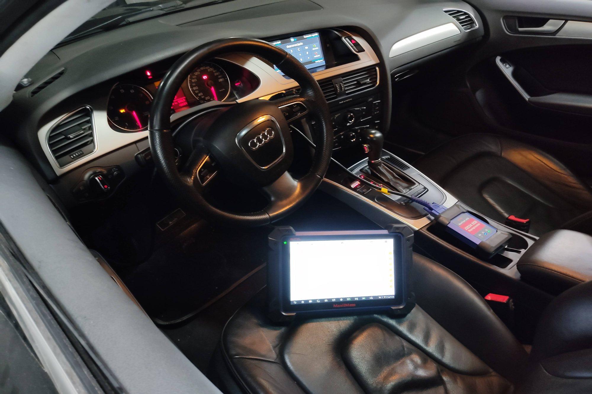 Audi Y escaner